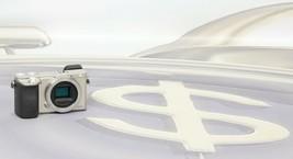 Sony Alpha A6000 ILCE-6000/S 24MP  Camera Wi-Fi Body Only Silver #4074 - $296.99