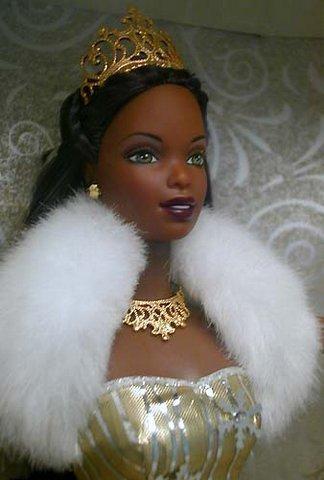 1st EDITION African American CELEBRATION BARBIE 2000 Mattel