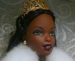 1st EDITION African American CELEBRATION BARBIE 2000 image 2