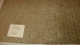 Beige Tan Hobnail Print Chenille Upholstery Fabric 1 Yard  R236 - $39.95