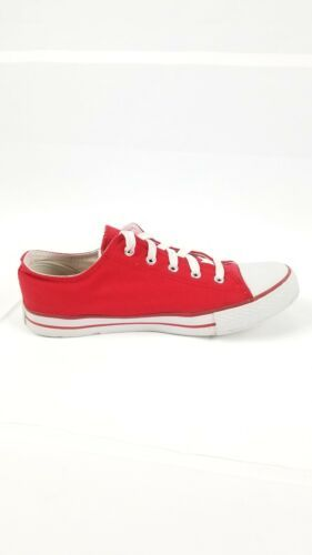 San Francisco SF Unisex Adult Converse Slip On Shoes Size 8m Red Campus Footnote image 6
