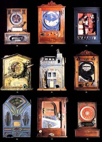 9 Slot Machines 80s Frameable Art WOW 18 to choose from image 3