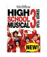 HIGH SCHOOL MUSICAL 3 III : SENIOR YEAR -the DVD - WALT DISNEY PICTURES ... - $6.41