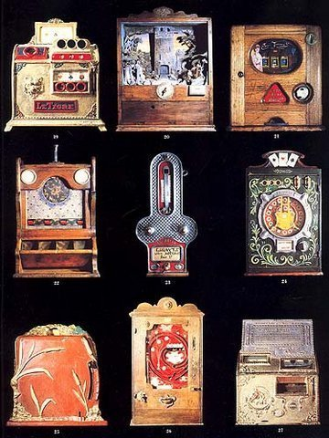 9 Slot Machines 80s Frameable Art WOW 18 to choose from image 2