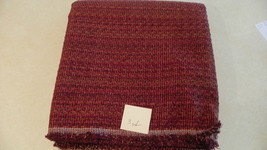 Brick Russet Olive Green Speck Upholstery Fabric  1 Yard  F1075 - $39.95