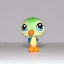 Littlest Pet Shop Green Hummingbird Blue Eyes 208 - $7.55