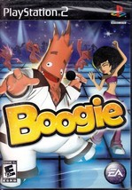 Boogie  PlayStation 2 Game E-Everyone Boogie Dance Game 1-2 Players - $9.70