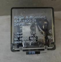 Potter & Brumfield Relay KAP-14DG-24 24VDC - $9.99