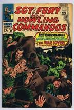 Sgt Fury and His Howling Commandos #45 ORIGINAL Vintage 1967 Marvel Comics - $14.84
