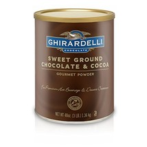 Ghirardelli Chocolate Sweet Ground Chocolate & Cocoa Beverage Mix, 48 oz Caniste - $31.75