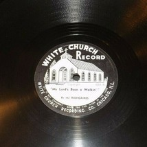 White Church Record #1081 AA-191720A Vintage Collectible
