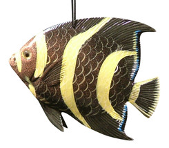 Luau Tiki Bar 3-D Hanging Tropical Fish TFO5 Ocean Art - $15.76