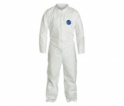 2 pair Collared Disposable Coveralls with Open Cuff, Tyvek® 400 Material... - $9.89