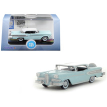 1958 Edsel Citation Ice Green with Snow White Top 1/87 (HO) Scale Diecas... - $19.86