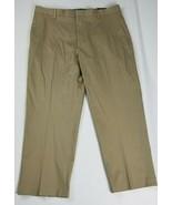 Kirkland Signature Non Iron Comfort Pant Classic Fit Flat Front Gray Men... - $15.84