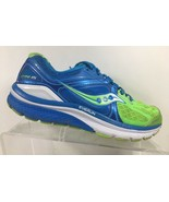 Saucony Omni 15 Women's Size 7 M Sneakers Running Shoes Blue Green - $34.66
