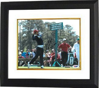 Primary image for Matteo Manassero signed 8x10 Photo Custom Framed The Masters at Augusta National