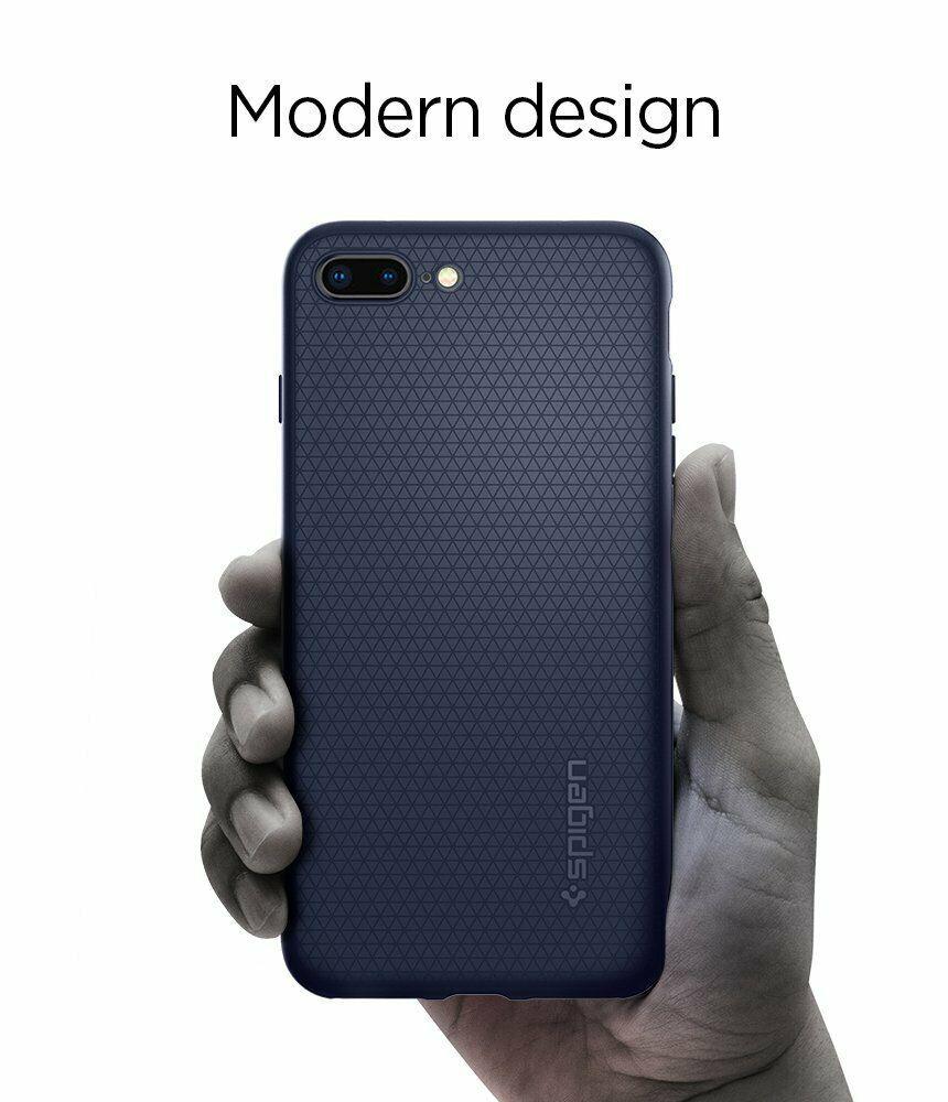 Spigen Liquid Air Armor Designed for Apple iPhone 8 Plus Case (2017)