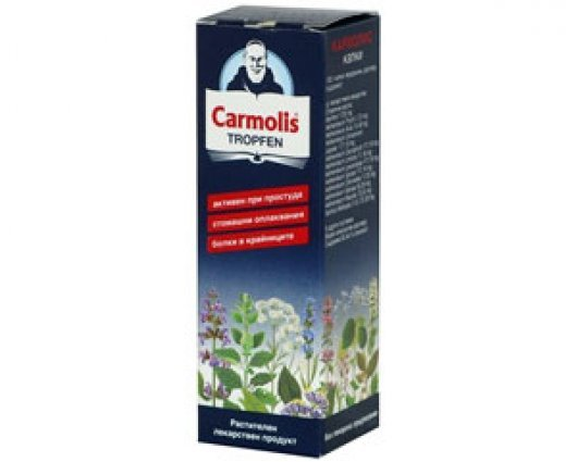 CARMOLIS solution with 10 Alpine herbs 80ml