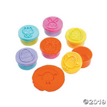 Easter Dough with Stampers, Set of 12 - $11.81