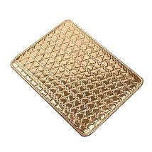Nail Art Pad Soft Hand Cushion PU Leather Armrest Holder Salon Hand Holder Gold