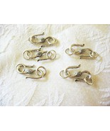 """Pewter """"S"""" Clasp with Rings, 20mm, 1 pack 3 clasps - $3.49"""