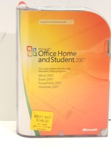 Microsoft Office Home and Student 2007 Retail 3 PCs 79G-00007 - $19.95