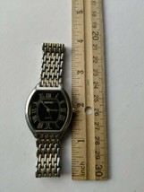 Men's Watch Terner Silver/Gold band clip - $24.75