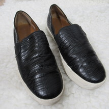 Vince Shoes 7.5 M Black Leather Loafer Slip Ons - $41.90
