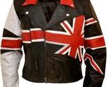Union uk flag patriotic black genuine leather jacket b846 thumb155 crop