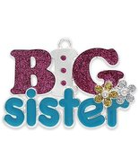 """""""Big Sister"""" Harvey Lewis Silver-Plated Ornament - Made with Crystals by... - $12.86"""