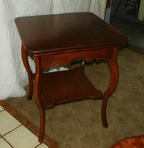 Solid Cherry Carved Parlor Table / Center Table  (T204) - $499.00