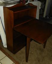 Solid Walnut Bookshelf / Desk by Davis  (DR2) - $699.00