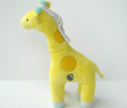 Carters Just One You Plush Yellow Giraffe Wind Up Musical Toy Crib Baby - $21.90