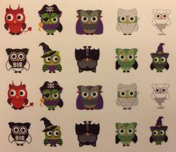 Bang Store Nail Art Water Decals Halloween Owls Cute Kawaii Rare Item Must Have - $3.67