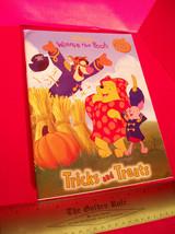 Disney Pooh Holiday Fun Book Winnie Tricks Treats Halloween Spooky Stick... - $4.74