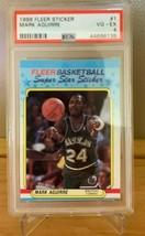 1988 Fleer Sticker Mark Aquirre #1 PSA 4. VG-EX - $9.89