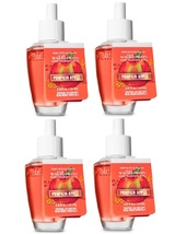 Bath & Body Works Pumpkin Apple Wallflower Fragrance Refill Bulb - Lot of 4 - $22.15