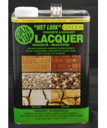 Wet Look Green Lacquer Sealer 1 Gallon - $66.95