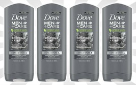 4 Dove Men+Care Elements Charcoal Clay Micro Moisture Purify Refresh Bod... - $29.15