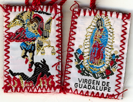 Red Scapular of Our Lady of Guadalupe / St. Michael image 2