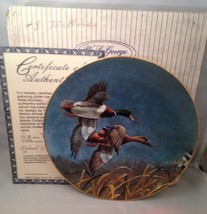 W. S. George THE MALLARD Duck Stamp Collector Plate w/ COA - $9.75