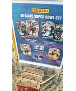 2019 PANINI EXCLUSIVE SUPER BOWL 53 LIII 36 CARD SET BRADY GURLEY ONLY 1... - $74.99