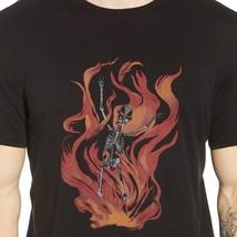 John Varvatos Men's Short Sleeve Skeleton Flames Graphic Crew Tee Shirt ... - $1.100,50 MXN