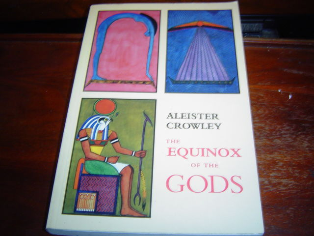 *VERY GOOD CONDITION* THE EQUINOX OF THE GODS BY ALEISTER CROWLEY OCCULT