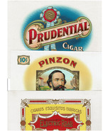 31 Vintage Cigar Box Labels and 3 1912 Telegrams Antique Beautiful Old T... - $21.77