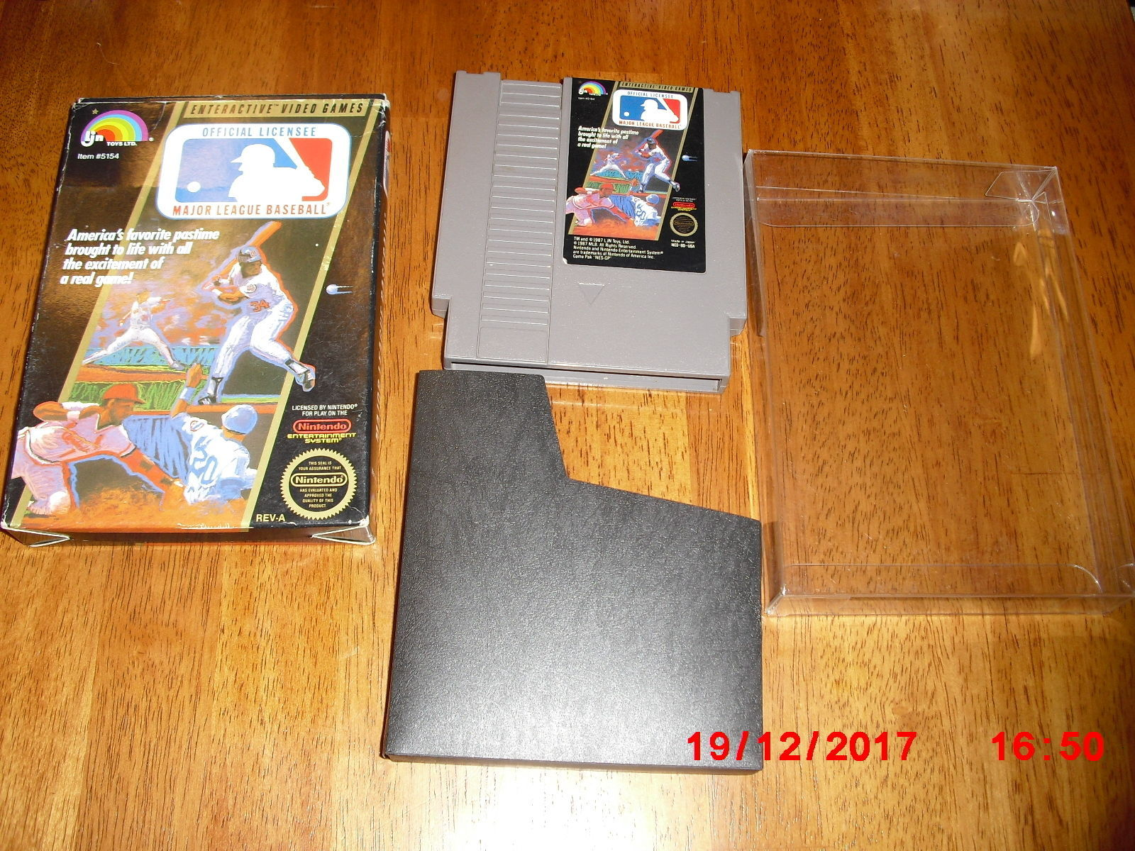 Primary image for Major League Baseball (Nintendo Entertainment System, 1988)