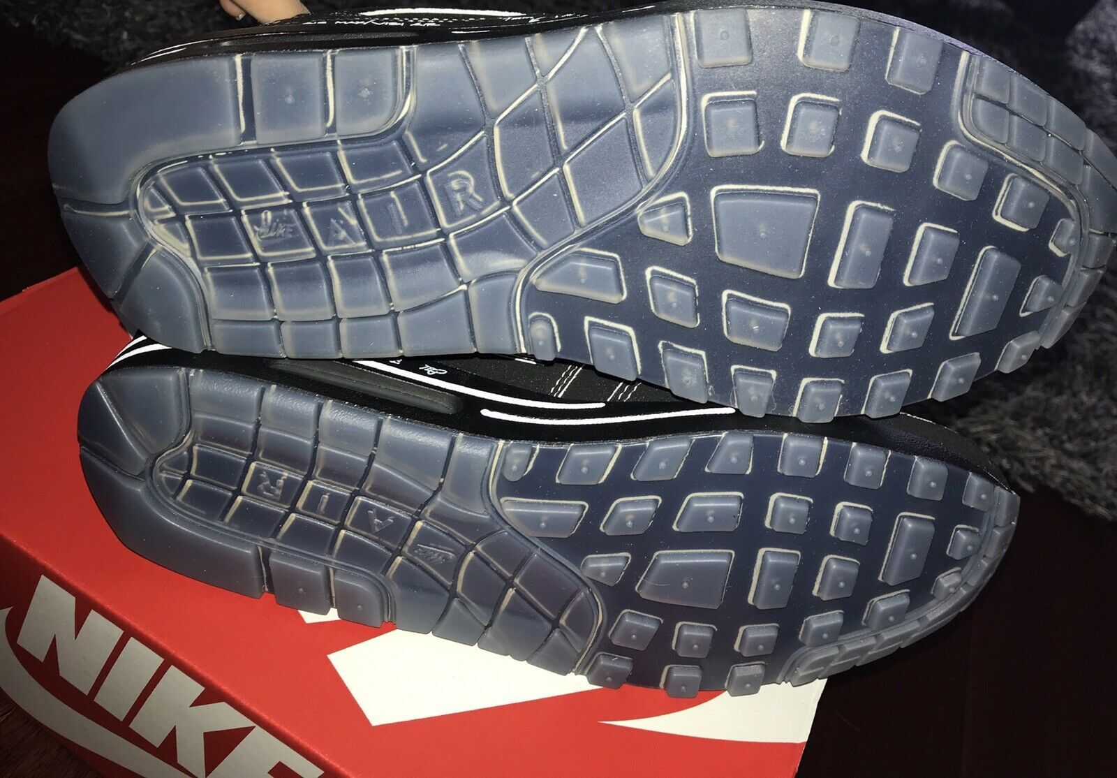 many styles 100% genuine retail prices NWB NIKE Air Max 1 Sketch to shelf Black and 45 similar items
