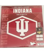 "Indiana University Hoosiers 2017 Sports  Calendar 12"" x 18"" Free Shipping - $16.82"
