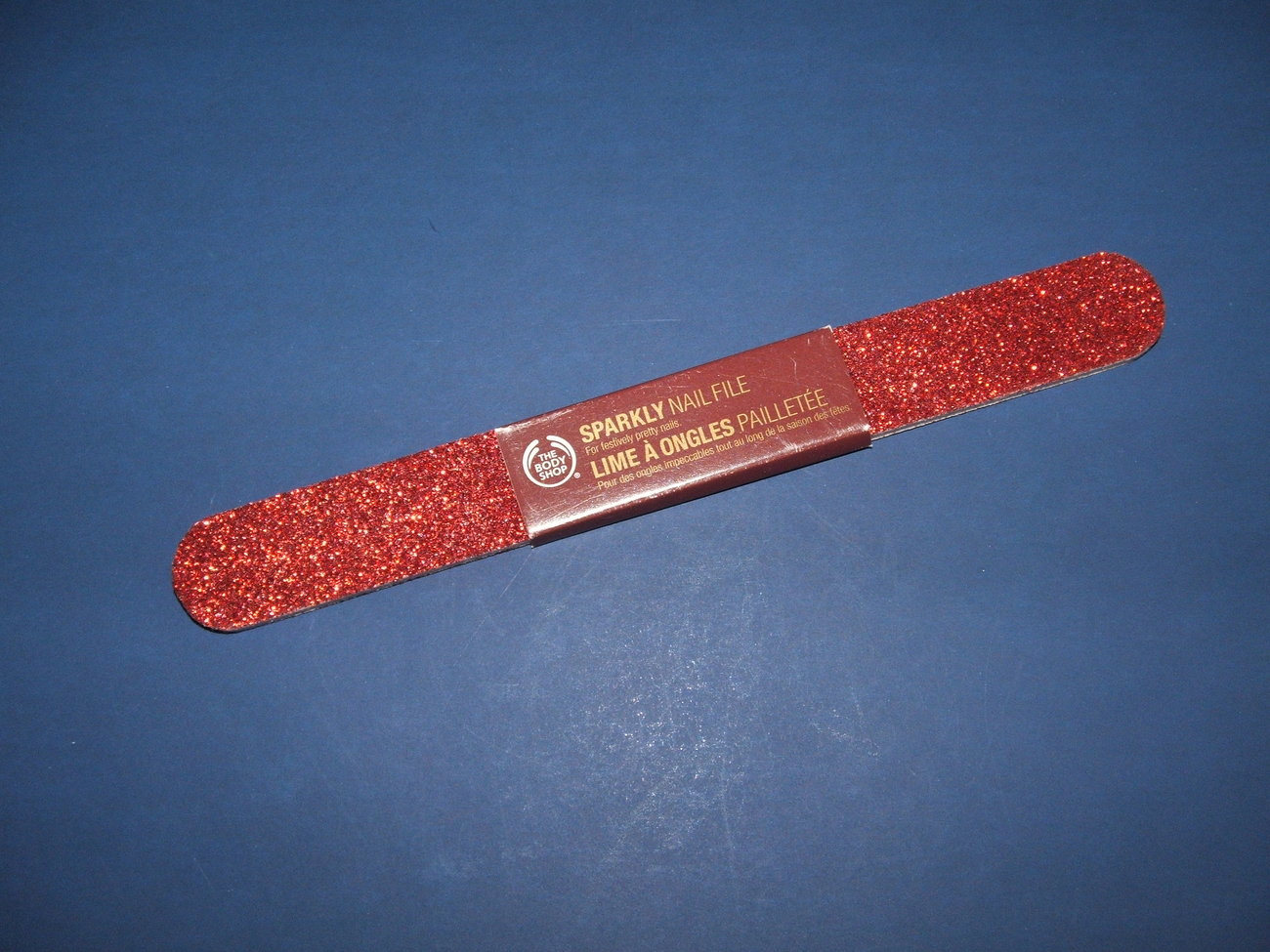 The Body Shop Sparkly Nail File  NWT Bonanza